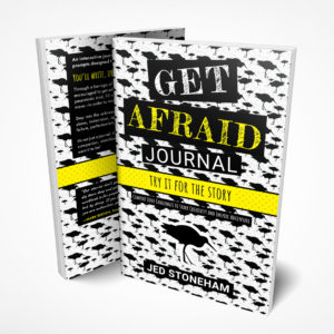 Get Afraid Journal Front Back Cover