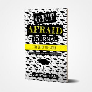 Get Afraid Journal Cover Front