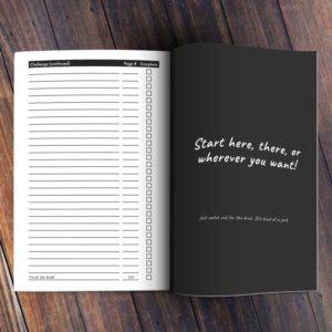 Get Afraid Journal Tracker Start