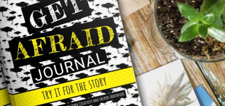 Get Afraid Journal Desk